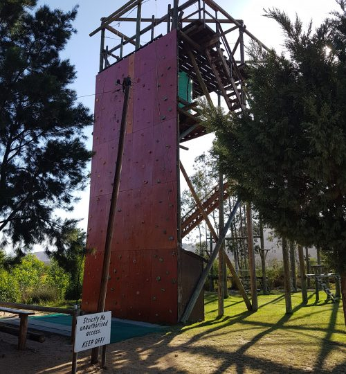 The course is 12m high